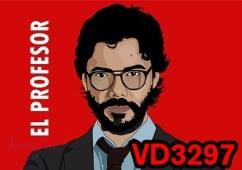VD3297 - CASA DE PAPEL